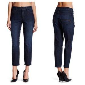 NYDJ Petite Clarissa Ankle Jeans 6 High Waist